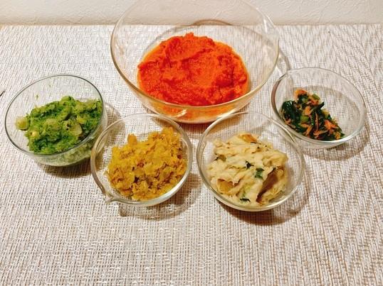 作り置き魔法の野菜スープ素5種類②♡安心楽学♡ 消毒液お土産付きの画像