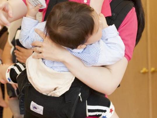 【池袋ツナニワ】赤ちゃんもぐっすり☆ベビーダンスの画像
