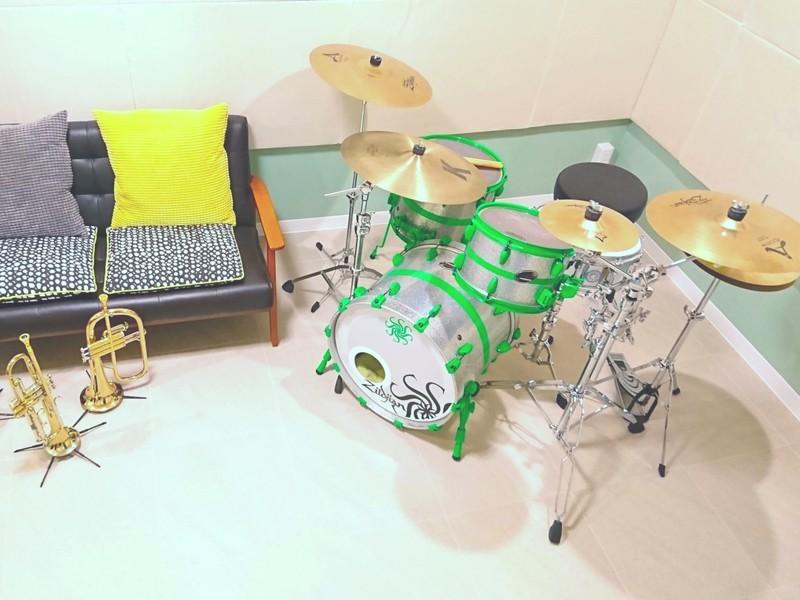 【ドラム】オンラインレッスン/未経験者・初心者・中級者【体験版】の画像