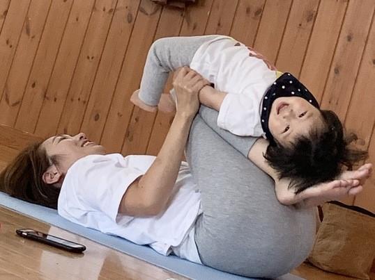 オンライン講座!親子deヨガ(大人と幼児・小学生向け)の画像