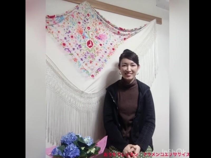 ZOOMオンライン講座「おうちでレッスン フラメンコエクササイズ」の画像