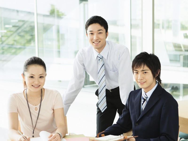オンラインでリモート研修 新入社員研修 来客応対訪問の画像