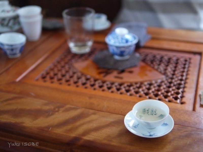 国賓に中国茶を淹れる方法 蓋碗 の画像