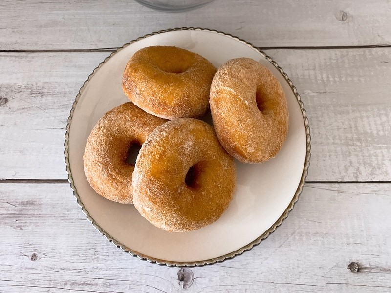 【オンライン】豆乳または牛乳ドーナツ2種類の画像