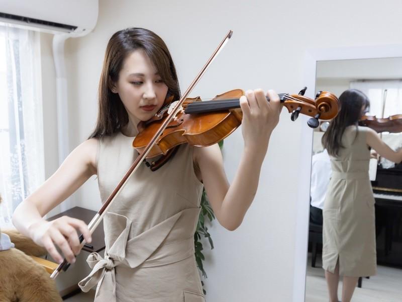 今だからオンラインでヴァイオリンレッスン。お試し期間につき限定で。の画像