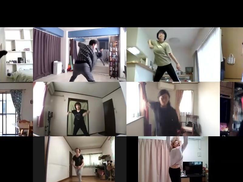 【オンライン講座】初心者向けダンスレッスン ジャズヒップホップの画像