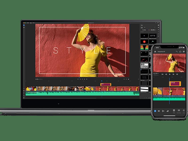 映像編集 スタンダードコース 編集ソフトプレミアで映像編集ができるの画像