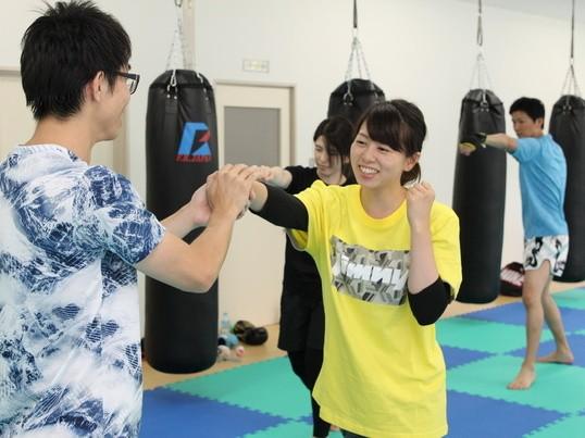 【オンライン】キックボクシングやってみよう!超初心者向け!の画像