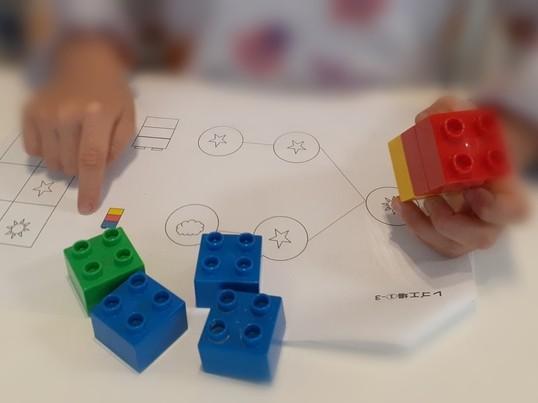 【オンライン】個別指導! レゴでさんすう遊びの画像