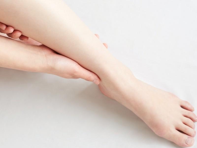 女性のための 足のむくみケア お手軽レッスンの画像