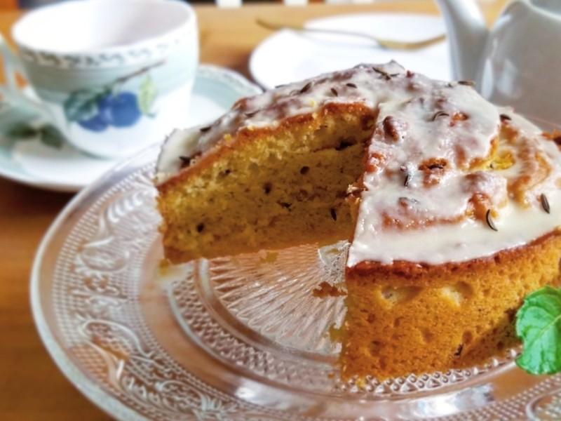 【オンライン講座】グルテンフリースイーツ教室「シードケーキ」の画像