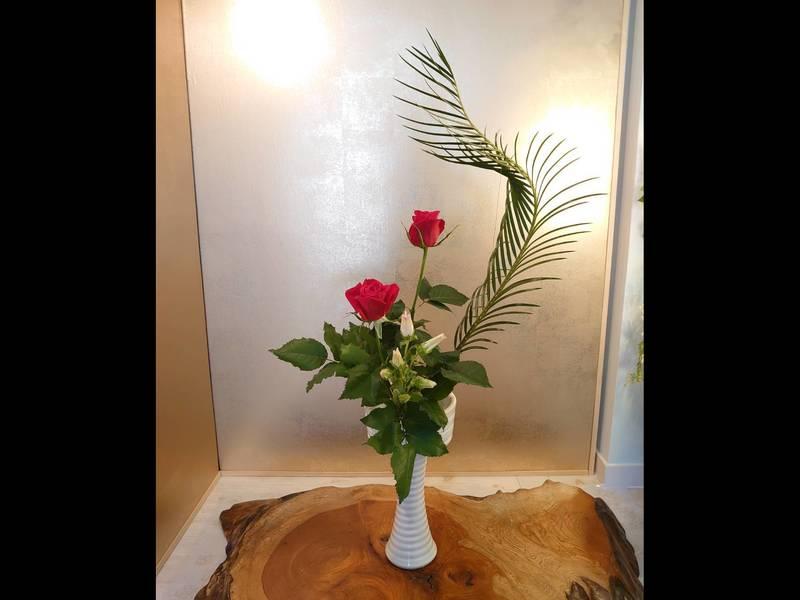 ご都合の良い時間にお花レッスンをしませんか。の画像