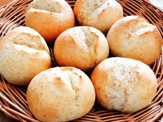 1回分材料付き【オンライン】パン体験レッスン☆はちみつライ麦パンの画像