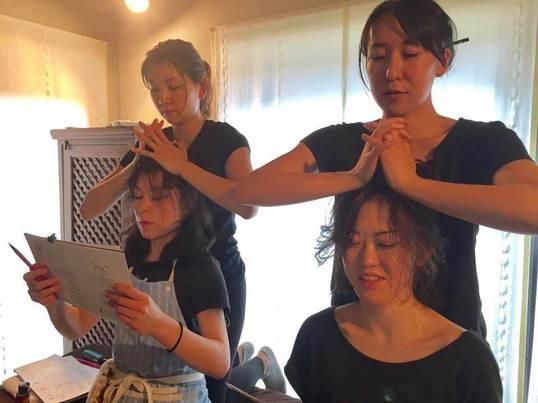快眠と自律神経を調整するアーユルヴェーダヘッド&耳マッサージの画像