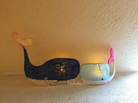 かわいいクジラライトミニを作ってほんわかしましょ♪の画像
