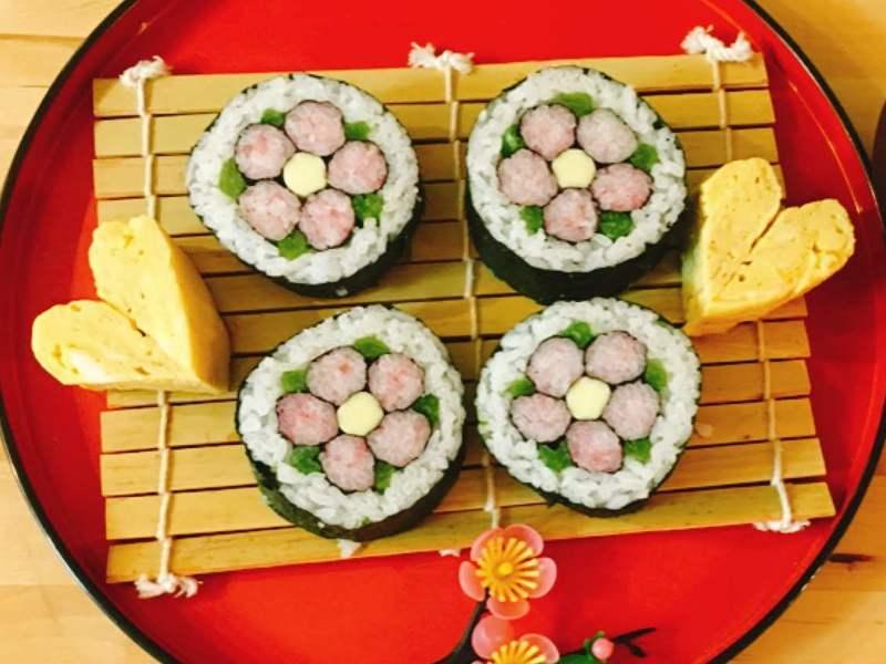 初心者対象 初めてのデコ巻き寿司入門講座(1種類・動画付)の画像