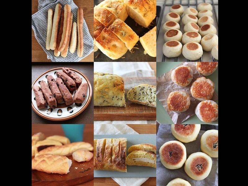夜5分、朝15分の世界一簡単なパン作り~おうちパン講座~の画像