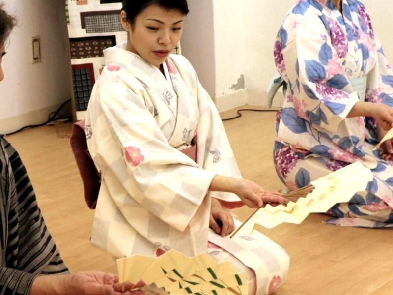 <オンライン体験>おうちで楽しい日本舞踊の画像