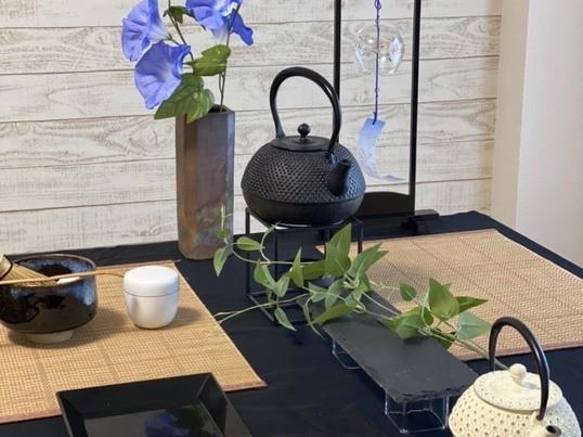 正座なし!着物なし!気軽にテーブル茶道体験🍵の画像