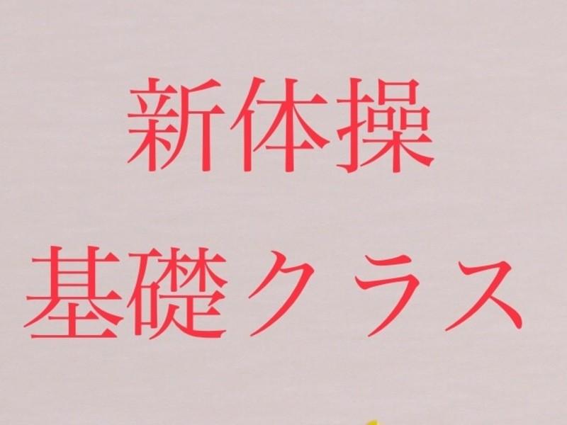 元新体操日本代表が教える 新体操レッスン 基礎クラス *女性限定*の画像