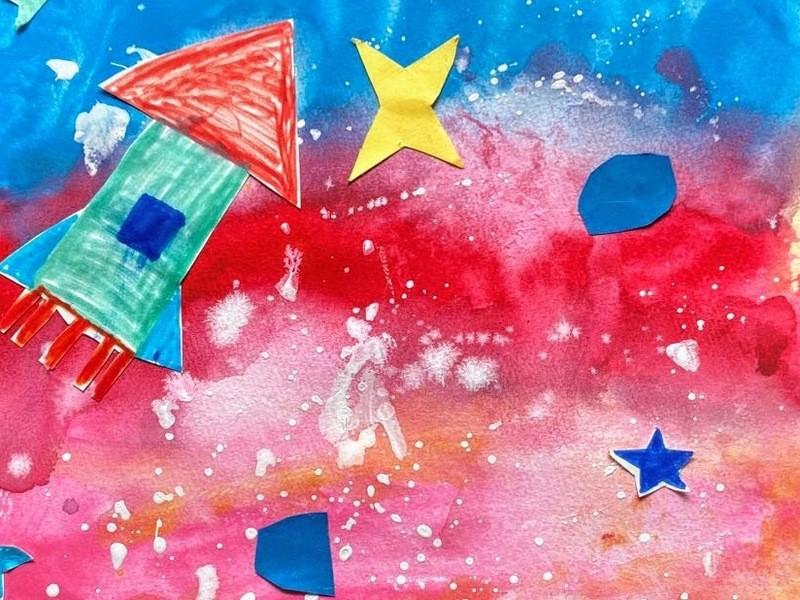絵がどんどん得意になる★子ども水彩画教室の画像
