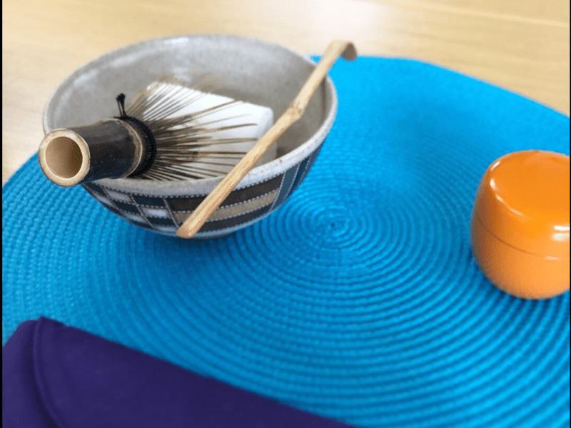 【オンライン】テーブル茶道体験の画像