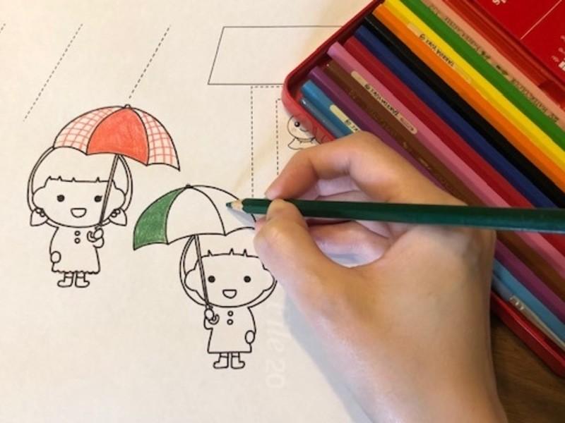 【親子で参加オンラインレッスン】お話塗り絵クラスの画像