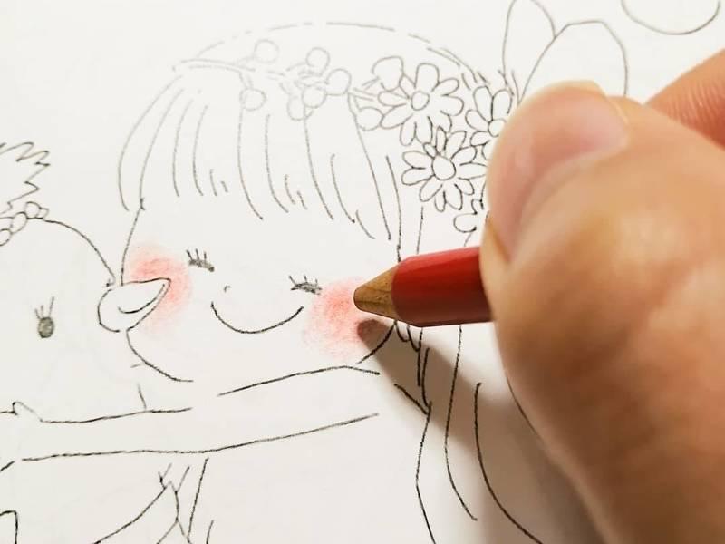 画材と色を楽しむレッスンの画像