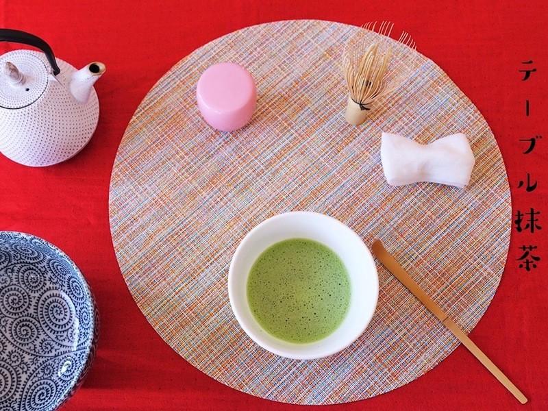~テーブル茶道~ Cha no Yu おもてなしテーブル抹茶の画像