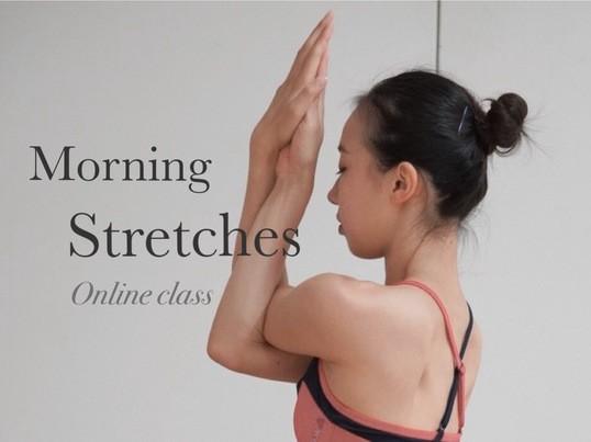 【ワンコイン】朝活! 朝のストレッチクラスの画像