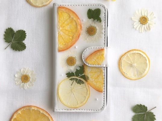 【オンライン】レジンと押し花・フルーツで作るオリジナルスマホケースの画像