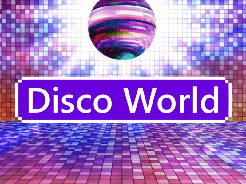 【Disco World★】80年代の曲と簡単な振付で気楽に踊ろうの画像