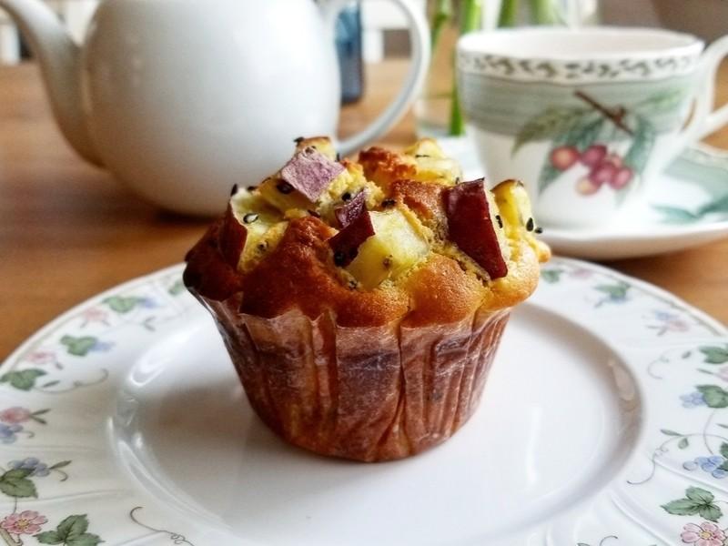 【オンライン講座】グルテンフリーのさつまいもマフィン・りんごケーキの画像