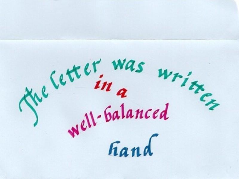 カリグラフィーで、美しく「Thankyou」を書いてみよう!の画像