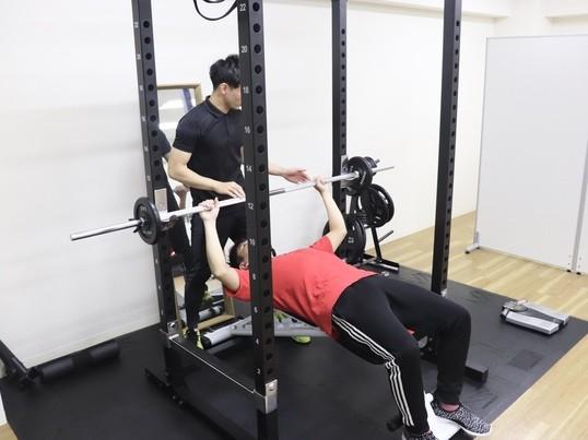 【痩せ型男性向け!】たくましい身体になれるパーソナルトレーニングの画像