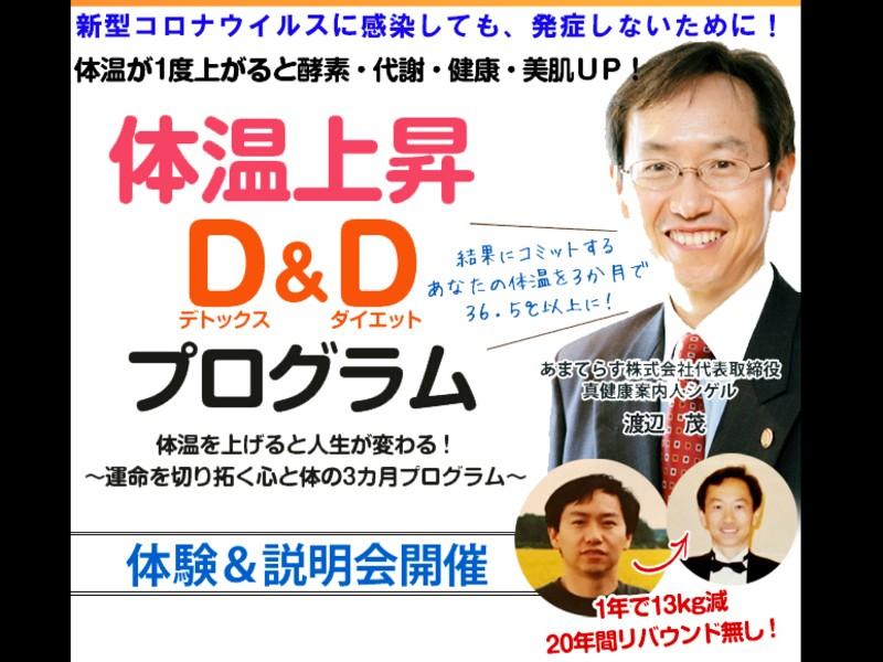 免疫力向上に★体温上昇D&D(デトックス&ダイエット)プログラムの画像