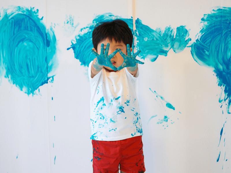全身でペイント!FREELY☆(3歳〜6歳)の画像