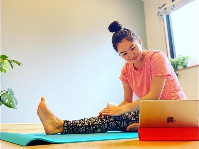 【オンライン】ボディフルネスヨガ 呼吸と身体を整える自分時間40分の画像