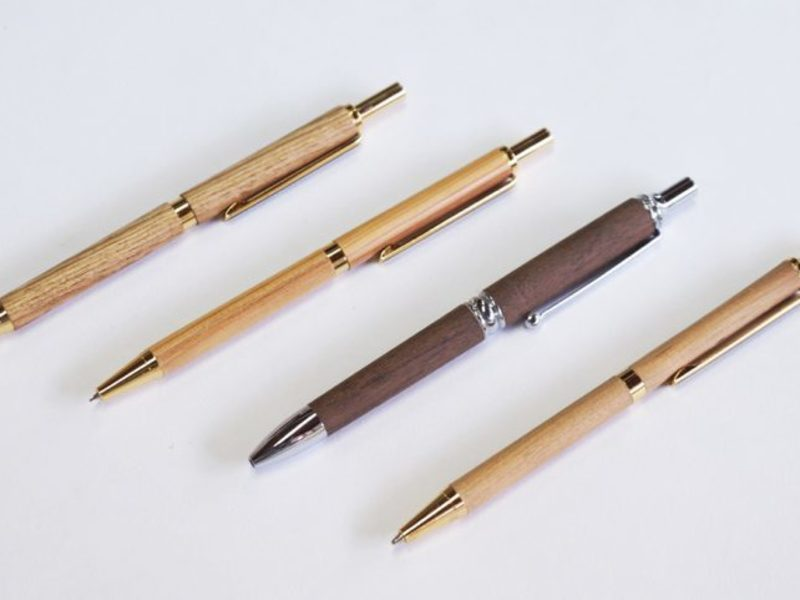 """【Wood Pen】""""どんな形にしようか?""""個性が光る木製ペン作りの画像"""