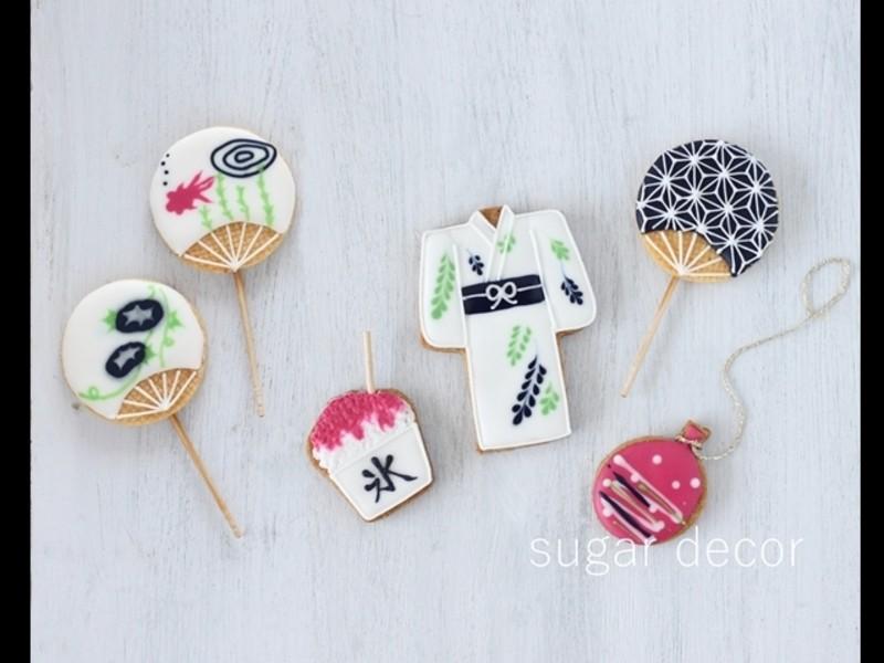 米粉&和三盆、きび糖のアイシングクッキーの画像