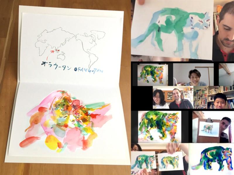 【夏の自由研究にもピッタリ】絶滅危惧種をポップに描き、本を作ろう!の画像