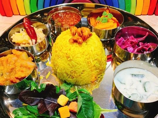 南インドのカレー!ミールスを作って食べよう!スパイス薬膳カレー講座の画像