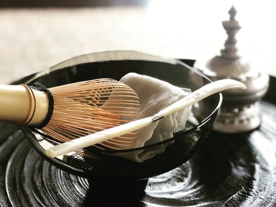 【オンライン講座】テーブル茶道 〜美味しい冷抹茶でおもてなし〜の画像
