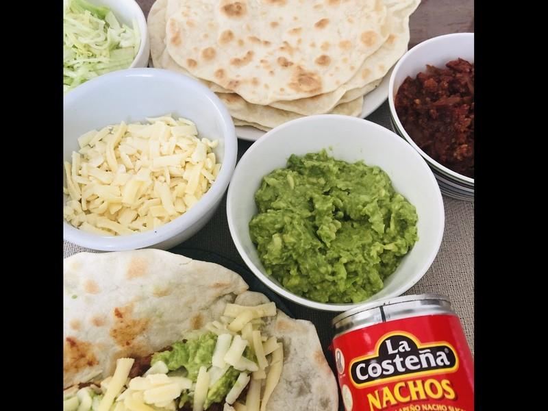 オンライン「世界の料理」メキシコ:タコスの画像
