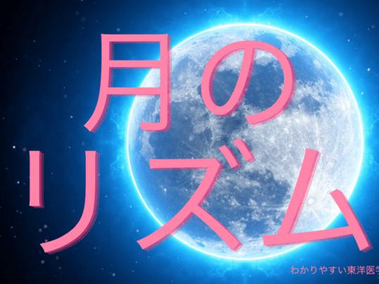 【月のリズムって?】月のリズムを学び仕事に活かせる東洋医学講座入門の画像