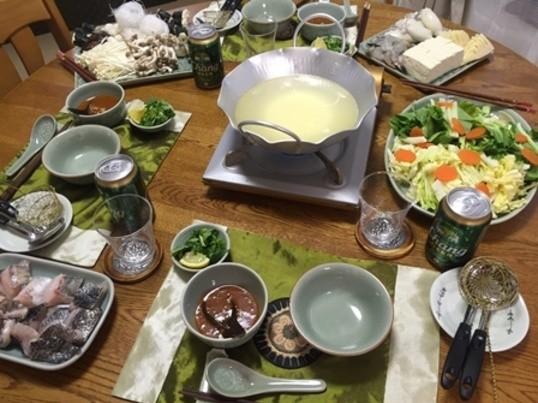 肉を使わないタイスキ(タイ風しゃぶしゃぶ) 魚と野菜のヘルシー鍋!の画像