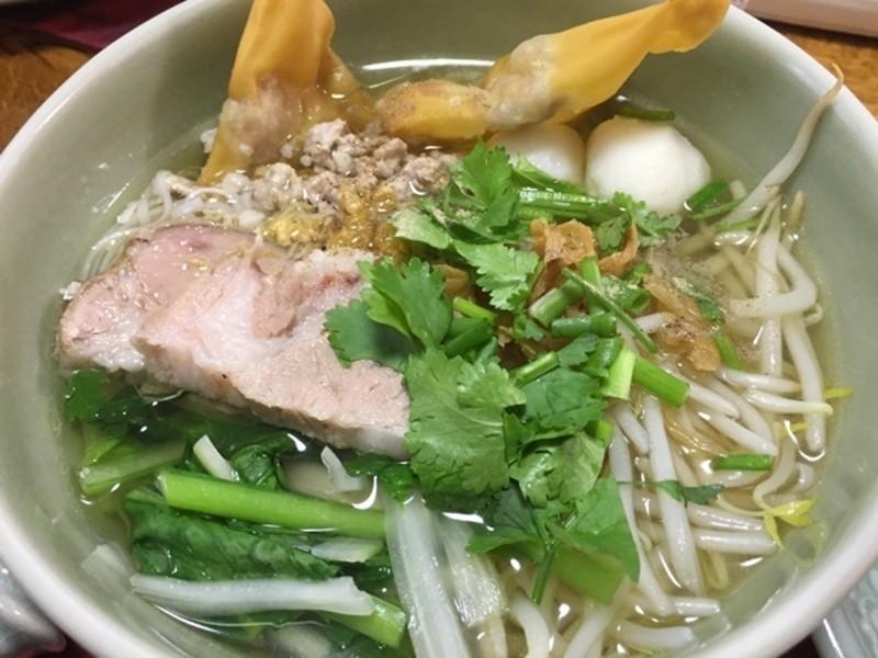 タイの屋台の味♪ 米麺のラーメンを作りましょう! の画像