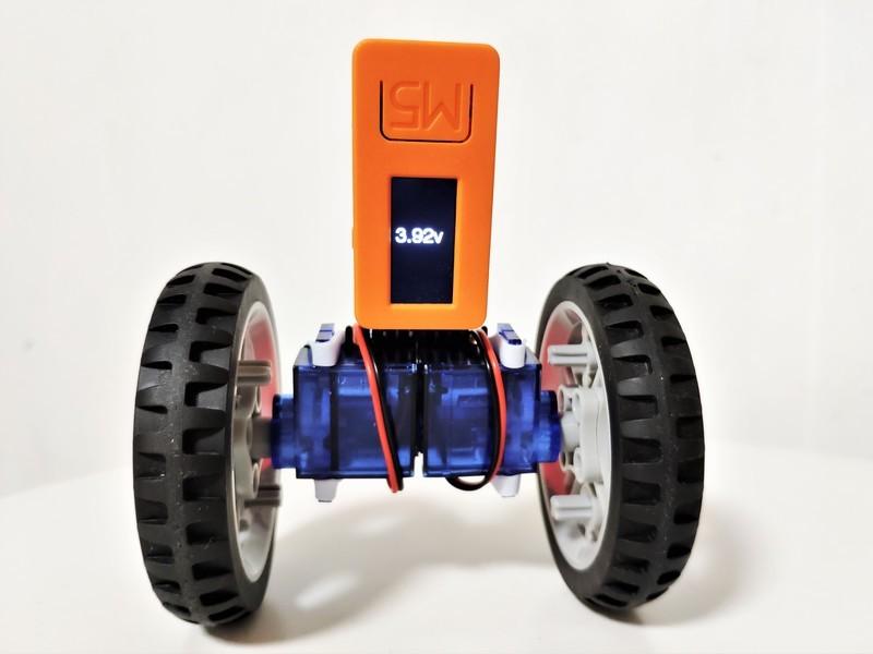 スマホで操作するミニセルフバランスカーを作ろう!の画像