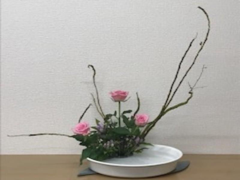 お花にセンスは要らない!!3回の受講ですぐに作れる生け花講座!の画像
