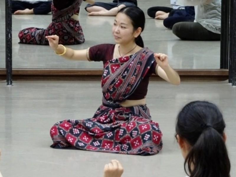 【オンライン講座】インド舞踊エクササイズ★【ダンササイズ】の画像